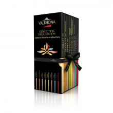 Coffret collection dégustation Valrhona (8 tablettes)